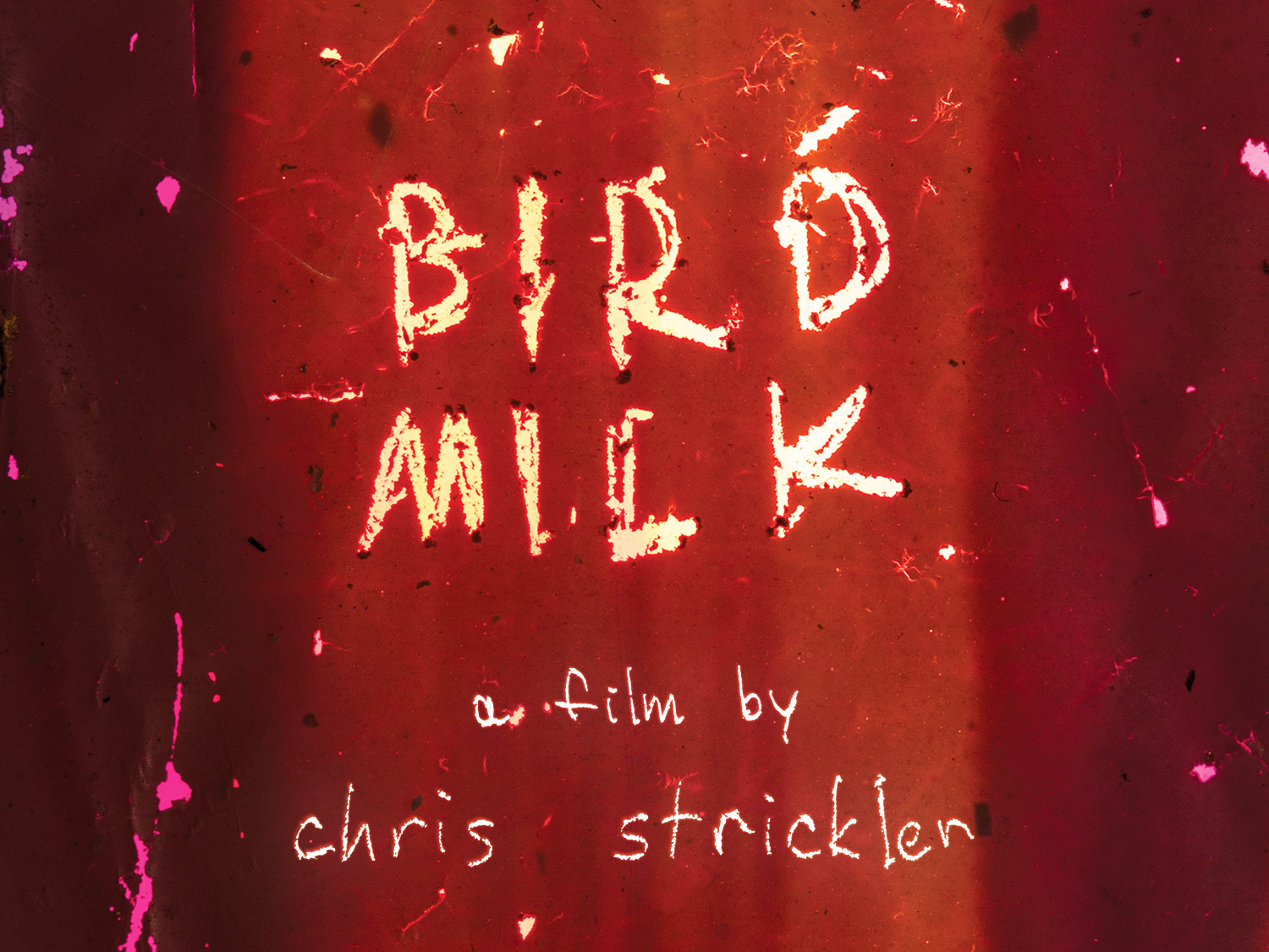 A landscape treatment of the logo You Are Here for the Exhibition