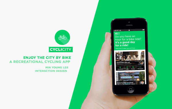 CycliCity | A Recreational Cycling App