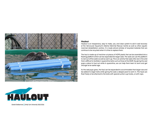 Haulout - Floating Platform for Injured Seal Pups