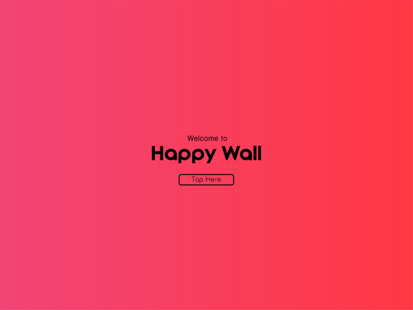 Happy Wall Campaign