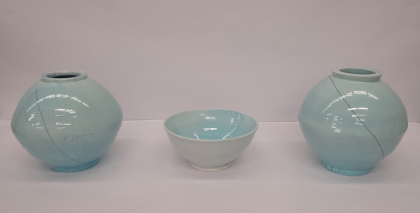 Blue Moon Jar series