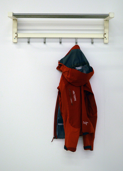 TJUSIG Hat Rack / Arc'teryx Jacket (2014) & Contract for Exchange (2014)
